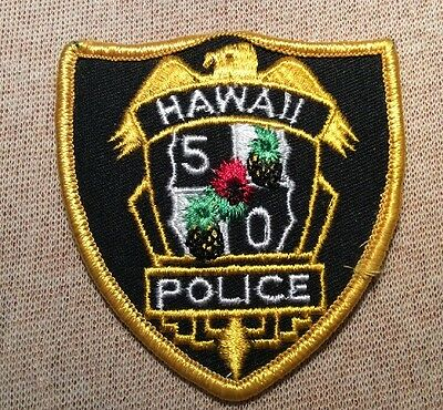 HI Hawaii 5/0 Novelty Police Patch (3In)