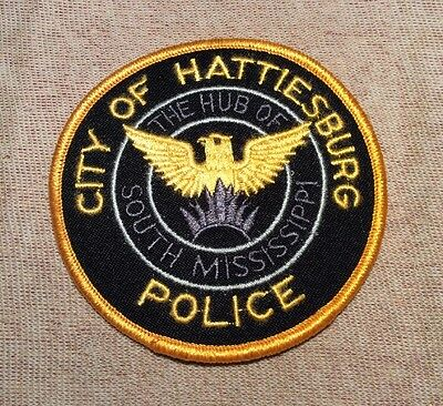 MS Hattiesburg Mississippi Police Patch