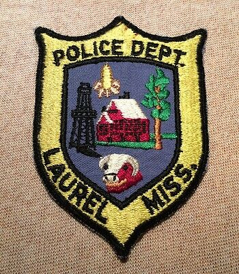 MS Laurel Mississippi Police Patch