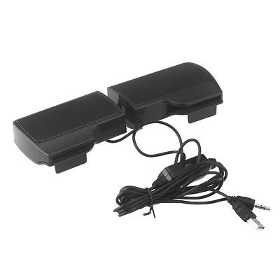 6W Portable USB Power Stereo Speakers with 3.5mm Jack for PC Laptops Mac