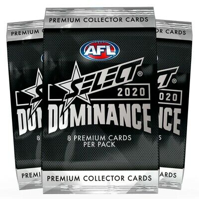 2018 Afl Select Legacy Footy Cards Sealed Packs - Picked Random From Box