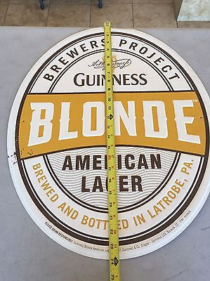 Guinness Beer Tin Sign New