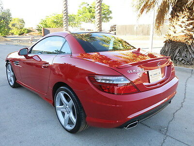 2014 Mercedes-Benz C-Class Mercedes-Benz Coupe SLK 250 Convertible 2014 Mercedes-Benz SLK250 slk 250 Low Miles damaged rebuildable salvage wrecked