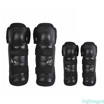 For Motocross Motorcycle Racing ABS Elbow Knee Pads Sets Armor Protective Guard