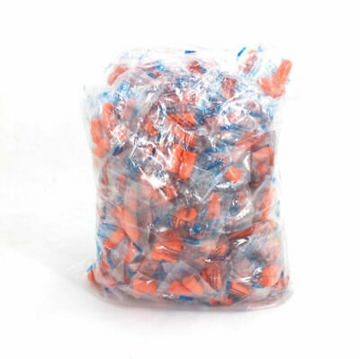 Ear Plugs 200 Pair Bulk Soft Orange Colorful Foam Sleep Noise Shooting NRR 32DB