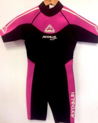 Adrenalin 3/2 spring suit, wet suit BNWT Girls youth size 12