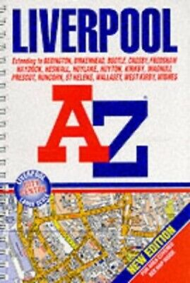 A-Z Liverpool Street Atlas (A-Z Street Maps & Atlases) Spiral bound Book The