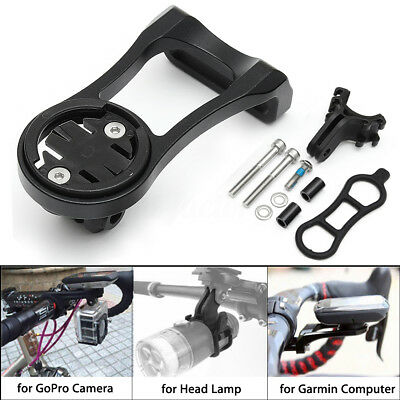 Bike Stem Extension Mount Holder Bracket Adapter For GARMIN Edge GPS GoPro