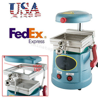 USA Dental Vacuum motor Forming Molding Machine Former heat Thermoforming press