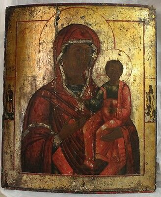 Russia Icon The Smolensk Mother of God Orthodox End of the 18th Century