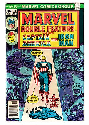 MARVEL DOUBLE FEATURE #19 (Capt' America / Iron Man) (Kirby) HIGH GRADE
