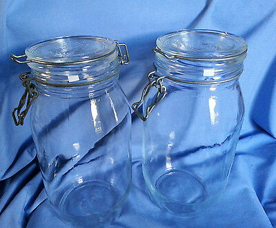 Le Parfait Preserving Jar 2 Lt Clear Glass