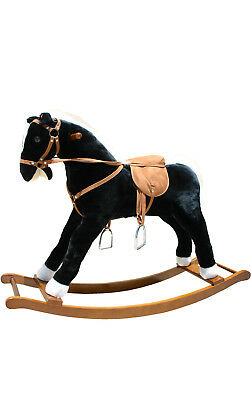 Alexander Taron Large Rocking Horse with Sound Effects