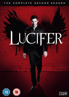 Lucifer: The Complete Second Season DVD (2017) Tom Ellis cert 15 3 discs