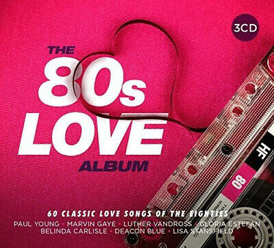 Various Artists : The 80s Love Album CD (2017) ***NEW***