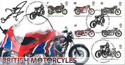 2005 Motorcycles - Scott Official - Signed by MURRAY WALKER
