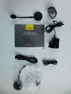 Jabra Pro 9460 Headset Bluetooth Headset Schwarz