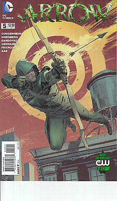 ARROW 5...NM-...2013...TV Show...Marc Guggenheim,Sergio Sandoval...Bargain!