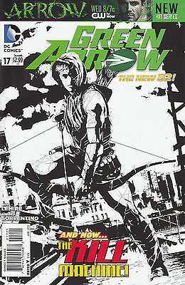 GREEN ARROW 17 1:25 B&W VARIANT...NM-...2013...New 52...Jeff Lemire...Bargain!