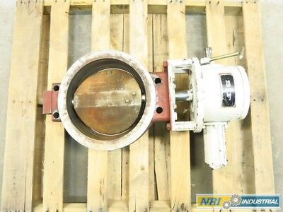 Bif 0652 12 In Iron Wafer Butterfly Valve Assembly D524719