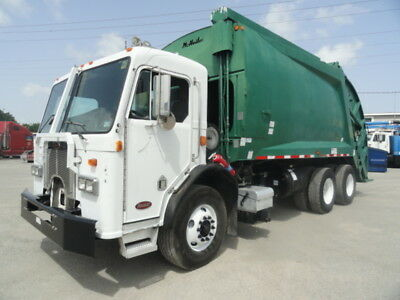 2003 Peterbilt 320 McNeilus Rear Loader Garbage Truck