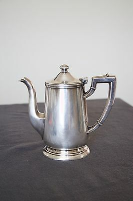 Vintage Hannover Inn Tea Pot Creamer Silver Soldered Intl Silver Co