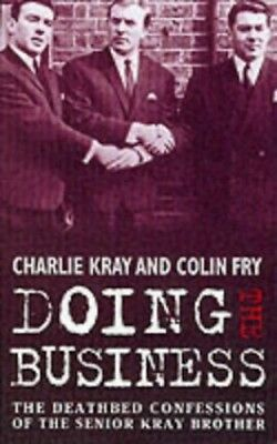 Doing the Business, Kray, Charles Paperback Book The Cheap Fast Free Post