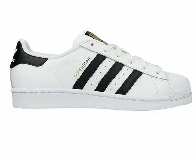 Adidas Originals SUPERSTAR J C77154 Girls Boys Trainers White