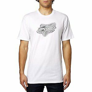 Fox Racing Systematic Mens Short Sleeve Premium T-Shirt Optic White 2XL