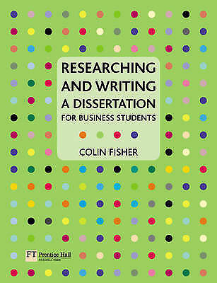 Researching and Writing a Dissertation: for Business Students-ExLibrary
