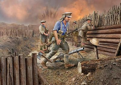 Revell Models 1/35 ANZAC Infantry 1915 (4 Figures)