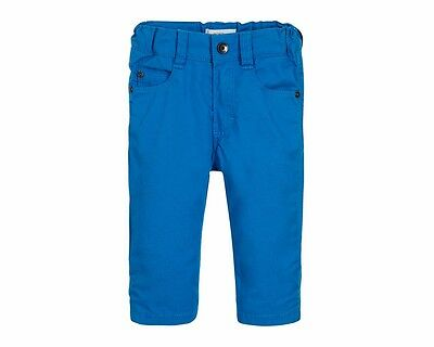 Hugo Boss Baby j04266 76N Five Pocket Baumwolle Chino Hose blau 3m