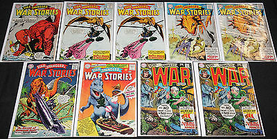 DC Silver-Bronze Age STAR SPANGLED WAR STORIES 17pc Mid Grade Comic Lot VG-FN