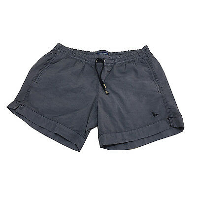 GRANSASSO men's custome with built-in briefs colour denim Made in Italy