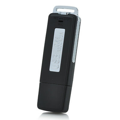 Rechargeable USB 2.0 Flash Drive Audio Voice Recorder Disk Pen Hidden Device