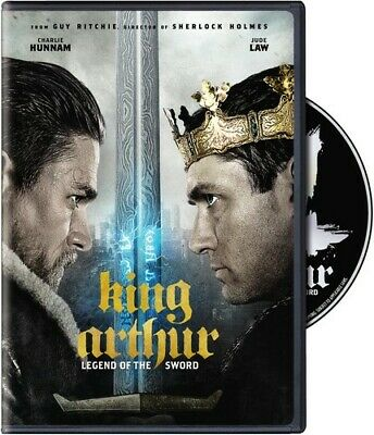 King Arthur: Legend of the Sword [New DVD] Special Ed, Subtitled, Widescreen,