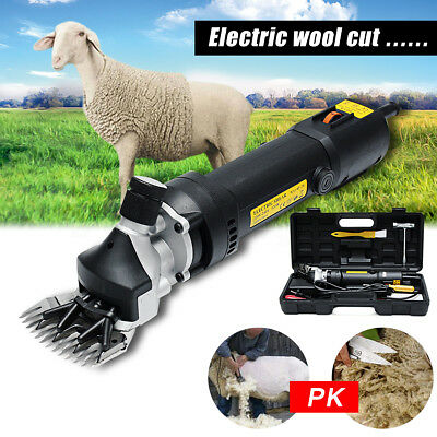Electric Sheep Shear Shearing Goats Clipper Animal Goat Alpaca Pet Farm Shears