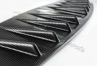 For 15-18 Subaru WRX STI Carbon Fiber Style Shark Fin Rear Roof Vortex Spoiler