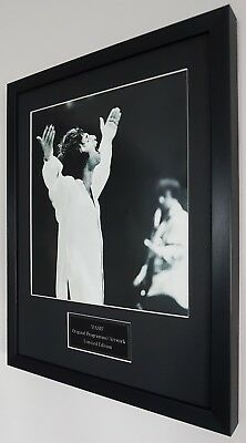 Oasis Framed Original Knebworth Programme-Plaque-Certificate-Liam Gallagher
