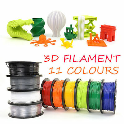 3D Printer Filament 1.75mm ABS PLA 1KG/Roll Colours Aussie Engineer Drawing Art