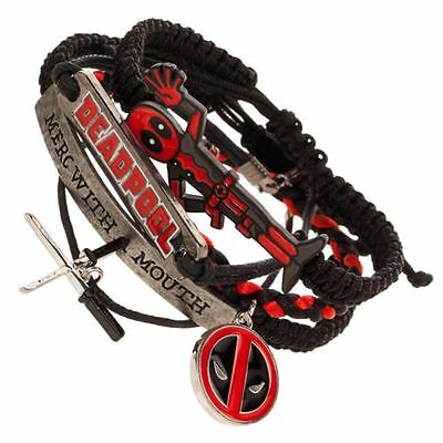Officially Licensed Marvel Deadpool Arm Party Bracelet