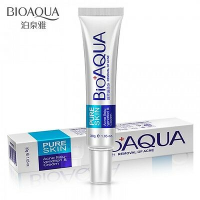Bioaqua Strong Acne Treatment Cream, Scar Removal, Stretch Marks UK SELLER