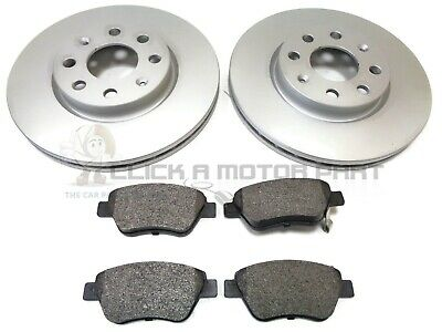 Vauxhall Corsa D 1.0 1.2 1.4 Ecoflex 06-13 Front 2 Vented Brake Discs And Pads
