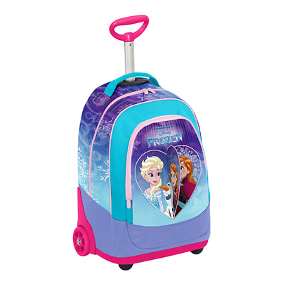 FROZEN ZAINO BIG TROLLEY con sistema FLIP IT SCUOLA 2017/18 SEVEN