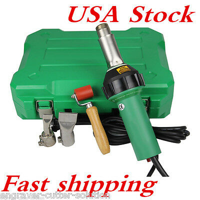 US Stock! 1600W 110V Affordable Easy Grip Hand Held Plastic Hot Air Welding Gun