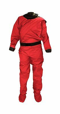 Drysuit for Paddlesports: Sobek by Mythic Gear, Unisex, red