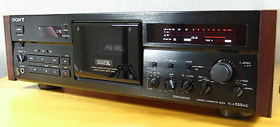 Sony Tc-K970Es/555Esl Copper, 3-Head, Direct Drive, New Capstan & Servobelt, Fb