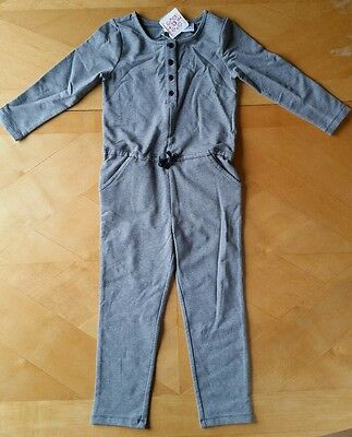 Nwt Hanna Andersson Cozy Romper In French Terry Gray Grey Jumpsuit 120 6 7 45f1459f3