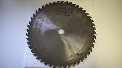 Royce Ultima Saw Blade 12 inch 48 tooth / 1in. Arbor Wood Blade New Carbide Tips