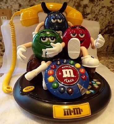 M&M 3 Character Novelty Phone